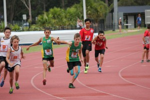 Region Junior boy relay change